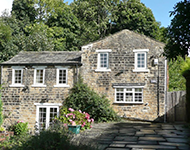 A stone house near Ilkley